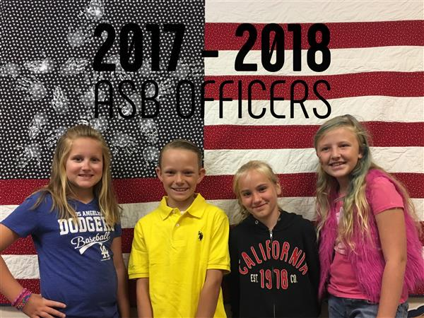 ASB Officers 2017-2018
